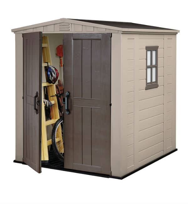 Keter Factor Outdoor Plastic Garden Storage Shed 6 x 6 feet Review