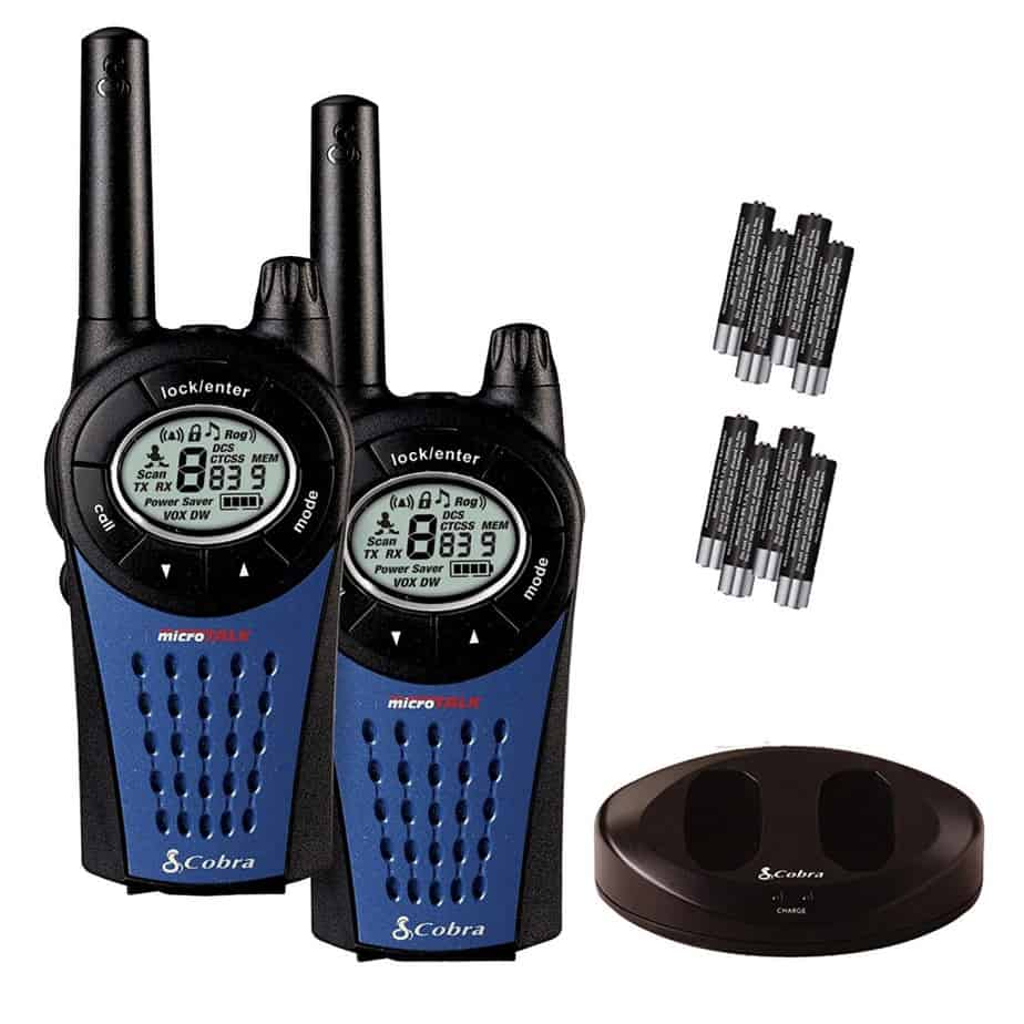 Cobra Walkie Talkie Radio Twin Pack
