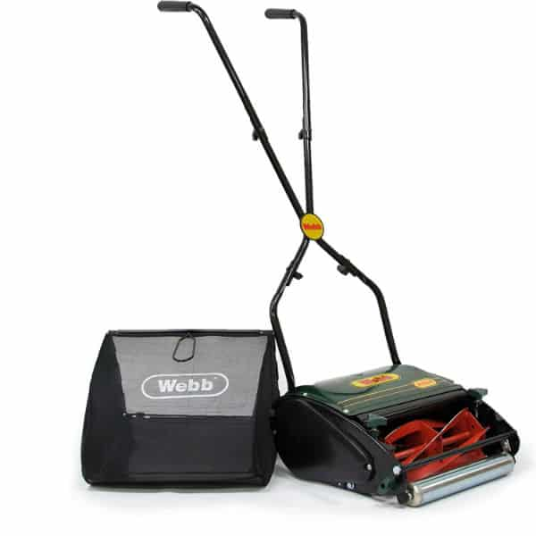 Webb H12R Push Hand Cylinder Lawnmower Review