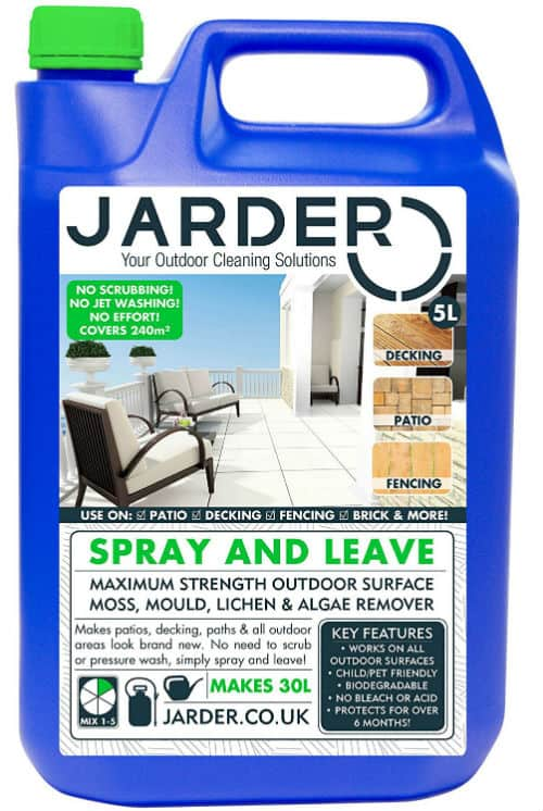 Jarder 5 Litre Concentrate Spray & Leave Cleaner Review