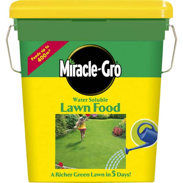 Miracle-Gro Water Soluble Lawn Food Tub Review