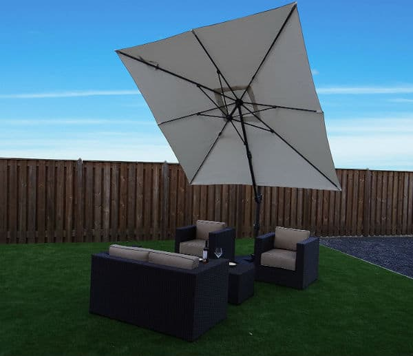 SORARA Cantilever Parasol Garden Umbrella Review