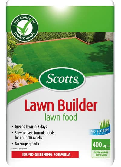 Scotts Lawn Builder Lawn Food Bag Review