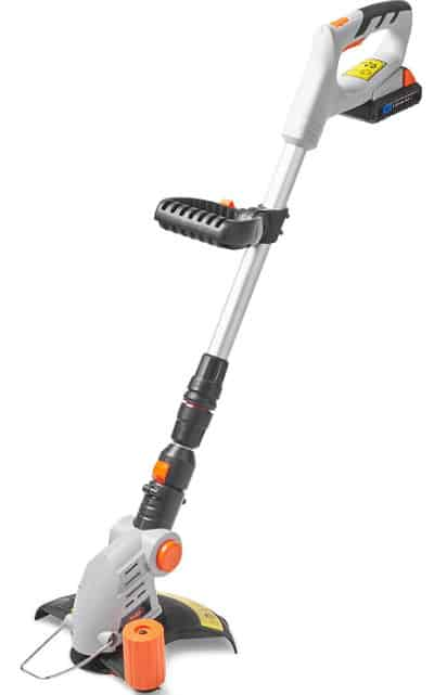We're a big fan of 'VonHaus garden tools' and have all ready reviewed their cordless hedge trimmer and cordless rotavator and they always impress, as well as being very reasonable prices. This strimmer is no different, and if you have a small garden, you want to keep it neat and tidy, this may be what your looking for.